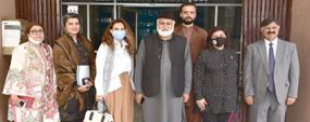 Turkish delegation visits PU